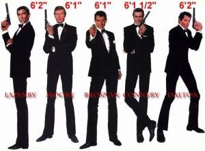 best and worst james bond 007