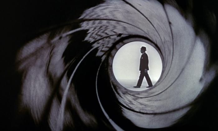 iconic 007 gun barrel