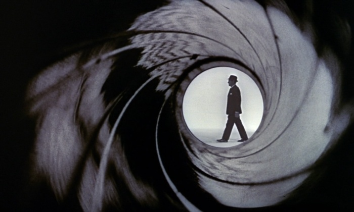 iconic 007 gun barrel